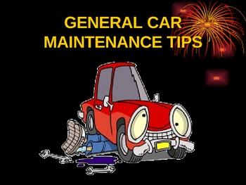 Basic Maintenance Car Pictures - Car Canyon