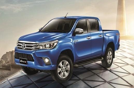 The 2016 Toyota Hilux Pickup